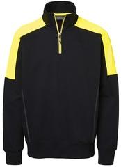Half-Zip Hybrid Sweatshirt