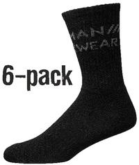 Tekninen sukka 6-paketissa