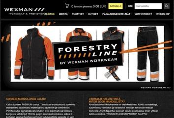 Wexman lanserar en ny hemsida i Finland